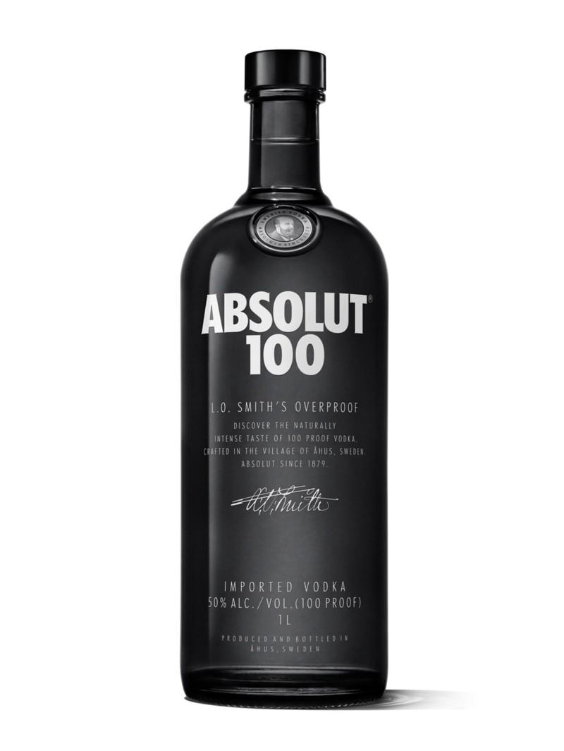 Absolut Vodka 100 1L