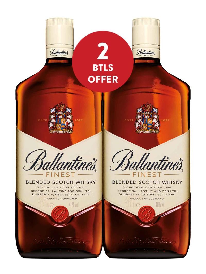 Ballantine's Finest Scotch Whisky 1.14L x 2