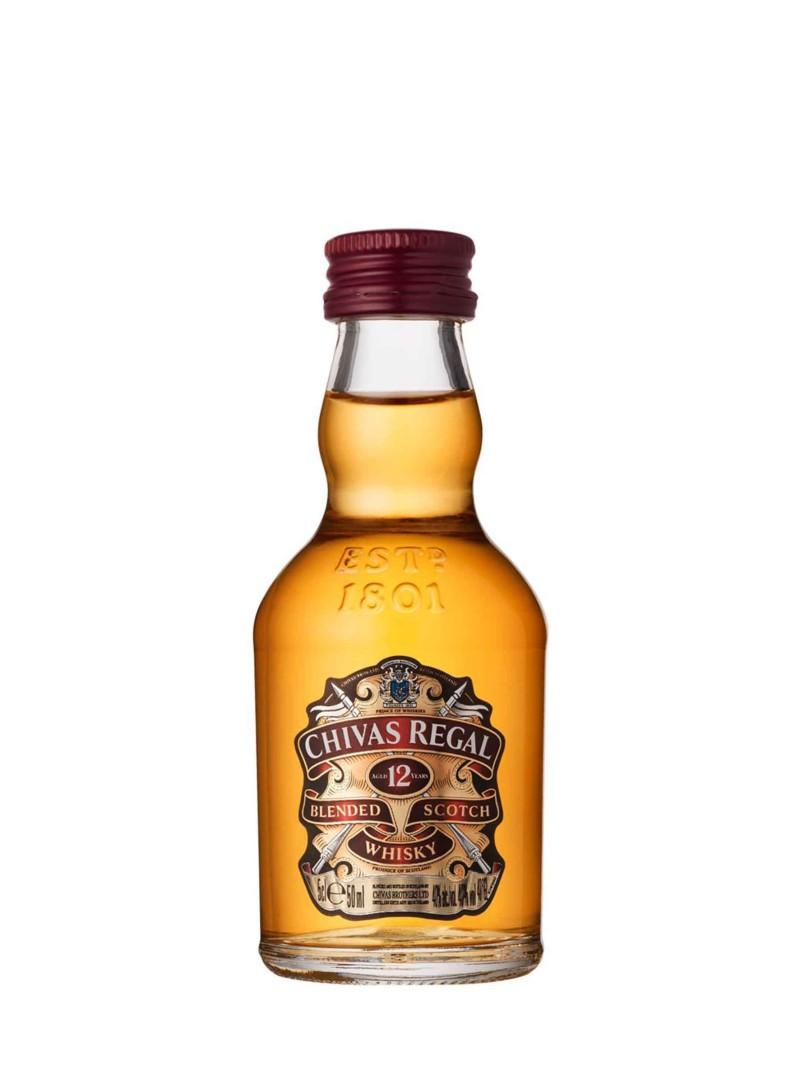 Chivas Regal Scotch Whisky Scotland 12YO Blended 5cl
