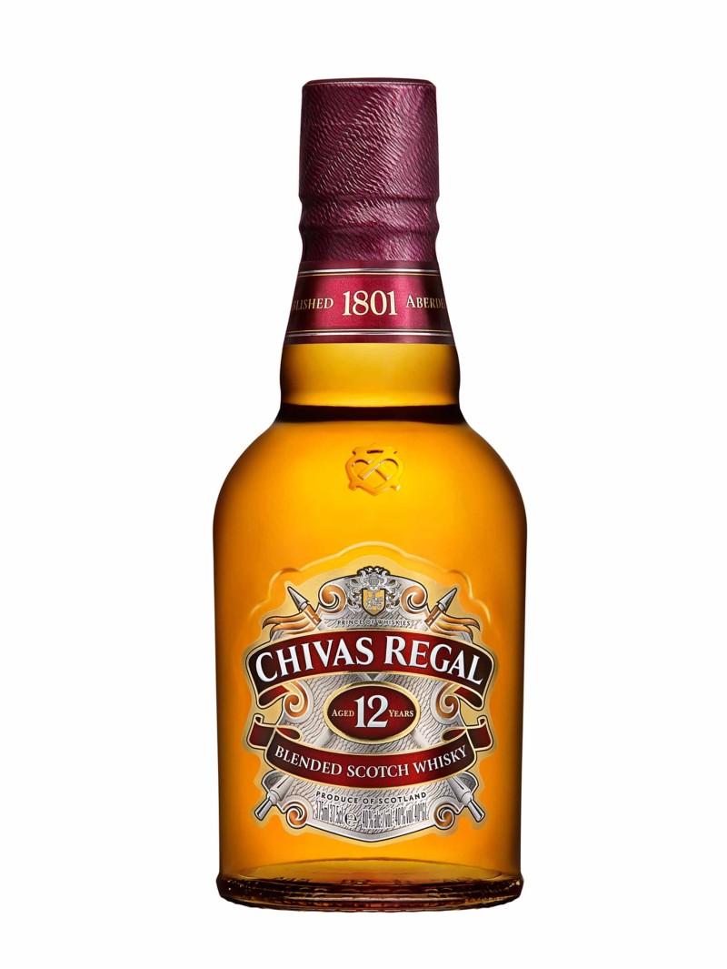 Chivas Regal Scotch Whisky Scotland 12YO Blended 37.5cl