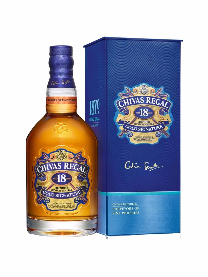 Chivas Regal Scotch Whisky Scotland 18 Yo Blended 75cl