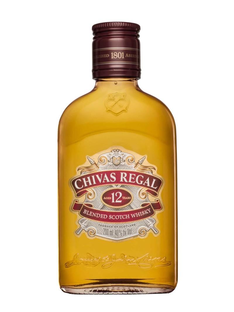 Chivas Regal Scotch Whisky Scotland 12YO Blended 20cl