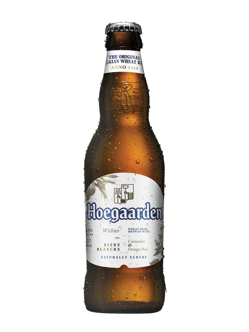 Hoegaarden White Beer Bottles