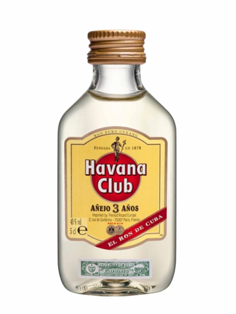Havana Club Añejo 3 Años Rum miniature 5cl