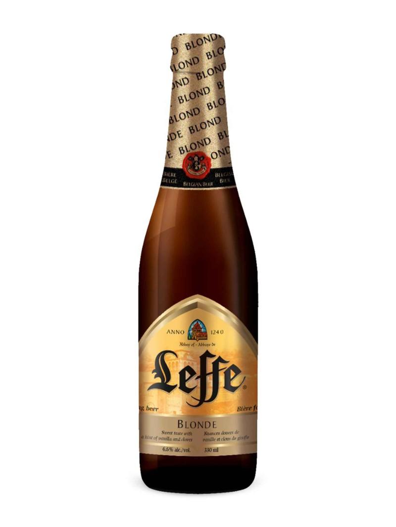 Leffe Blonde Ale Bottles