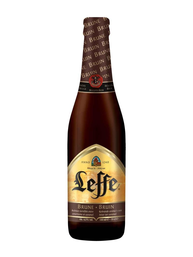 Leffe Brun (Dark) Ale Bottles