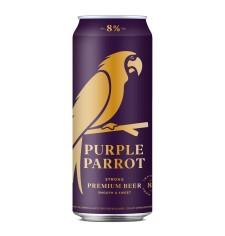 Purple Parrot 8% Strong Premium Beer 50cl