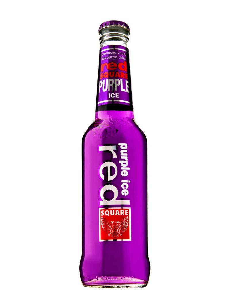 Red Square Purple Ice