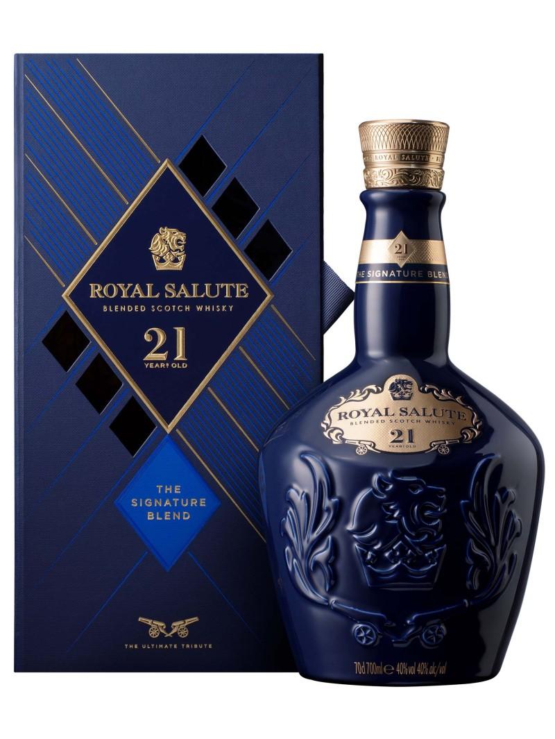 Royal Salute Whisky Scotland 21YO Signature Blend