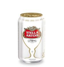 Stella Artois Cans