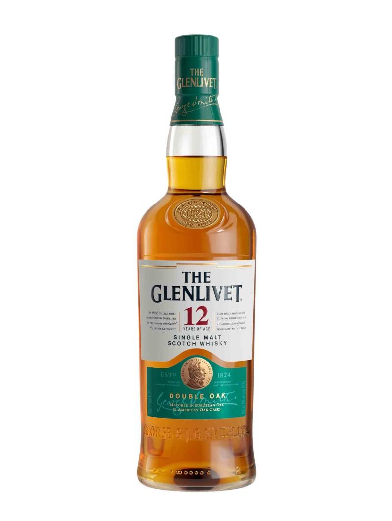 The Glenlivet 12 Year Old Scotch Whisky