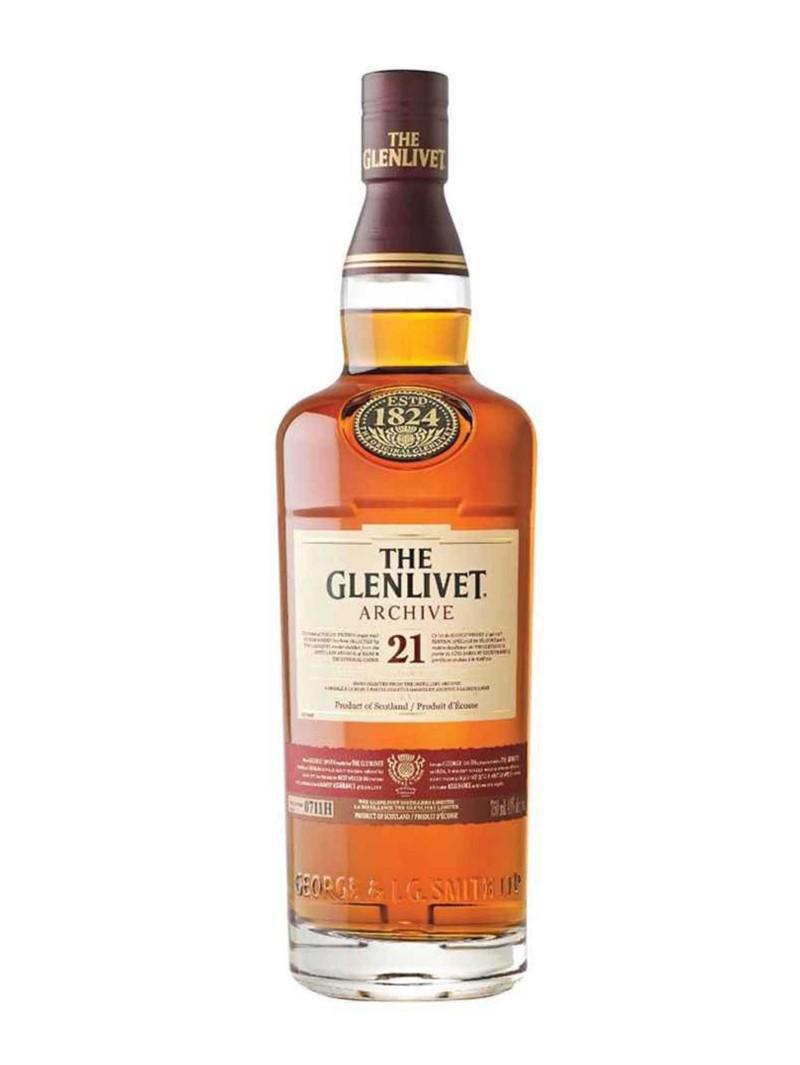 The Glenlivet 21 Year Old Single Malt Scotch Whisky
