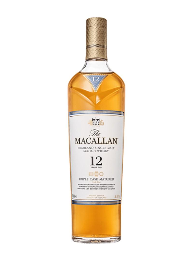 The Macallan Triple Cask Matured 12 Year Old Single Malt Scotch Whisky